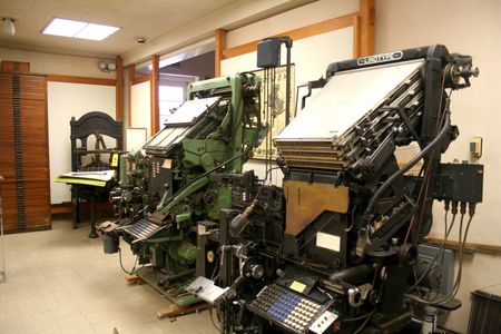things are better with a parrott: Museum of Printing