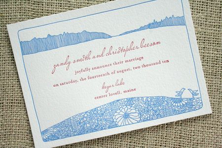 maine_lake_wedding_letterpress