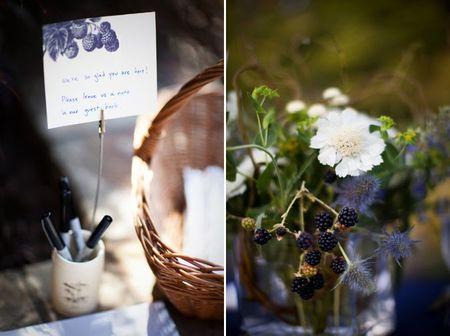 12-blackberry-wedding-guest-book-centerpiece