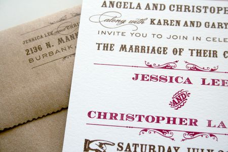 Western Poster Wedding Invitations