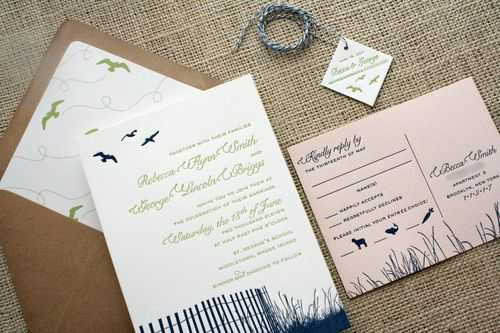 a lovely color palette of navy blue greenwith a twist of soft pink