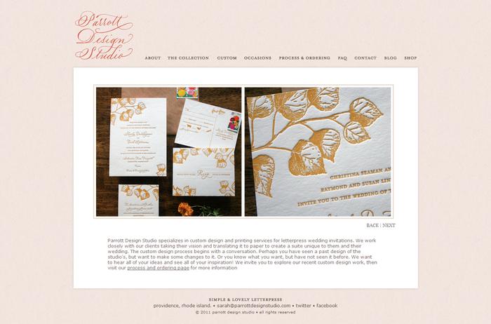 FireShot capture #037 - 'Letterpress Wedding Invitations, Stationery, & Paper Goods - Parrott Design Studio' - www_parrottdesignstudio_com_custom_php
