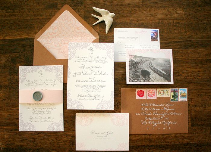 Aren T The Envelopes Beautiful Something About That Combination Of Kraft Paper White Ink Grace S Calligraphy And Vintage Stamps